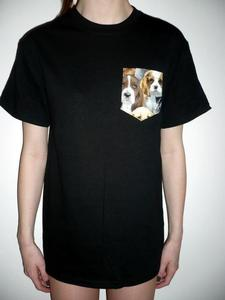 Image of Puppies Pocket Tee