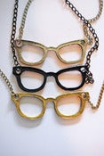 Image of Geeky glasses necklace