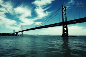Image of San Francisco Bay Bridge photograph print by Ryan Russell