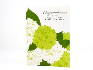 Image of Mr. and Mrs. Wedding Card
