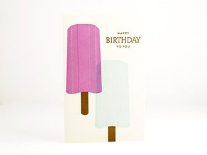 Image of Happy Birthday Popsicles