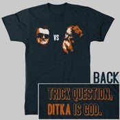 Image of Ditka vs God T-Shirt