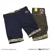 Image of Filter017 ETERNAL BRAVE TURN UPS SHORTS(Camouflage limited)