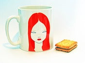 Image of Strawberry blonde mug 