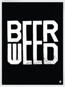 Image of Beer / Weed Print