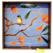 Image of Kingfisher Tray by rockflowerpaper