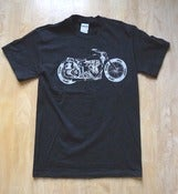 Image of CFH Dirtbike t shirt black