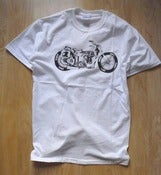Image of CFH Dirtbike t shirt white