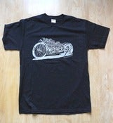 Image of CFH Dragbike t shirt Black