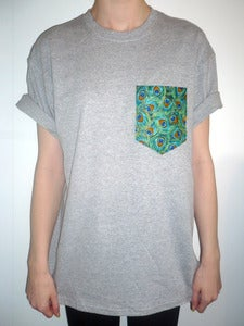 Image of Peacock Pocket Tee