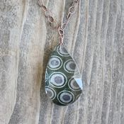 Image of petal drop necklace - large 293
