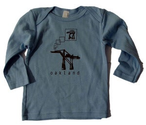 Image of AT-AT baby tee long sleeve