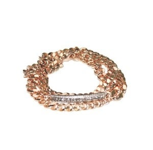 Image of Delru Chain Wrap Bracelet