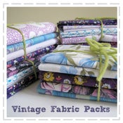 Image of Vintage Fabric Packs - Purples