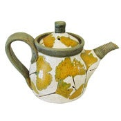 Image of Gingko Teapot by Three Wheel Studio