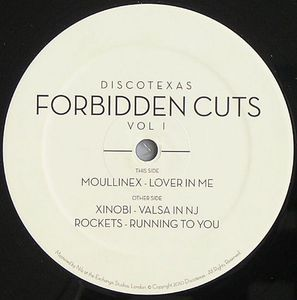 "Image of VARIOUS ARTISTS ""FORBIDDEN CUTS VOL. 1"" 12"" VINYL"