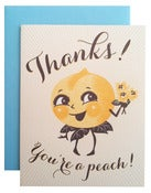 Image of Thanks! You're A Peach!