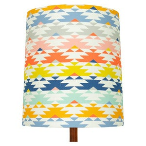 Image of Navaho Print Lamp Shade (stripe), Fiz & Foster