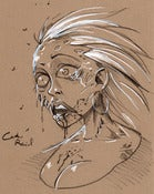 Image of Custom Zombie Sketch of Awesomeness!
