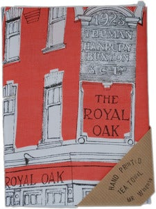 Image of Royal Oak Tea Towel