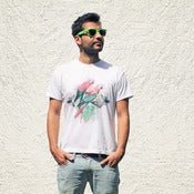 Image of T-shirt Parrot Garden ~ Men