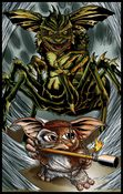 Image of GREMLINS 2 - GIZMO - COLORED PRINT