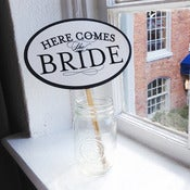 Image of Here Comes the Bride Prop