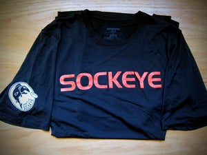 Image of 2012 Black Sockeye Authentic Jersey