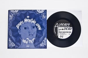 Image of AD045 The Binary Marketing Show/The New Diet Split 7""