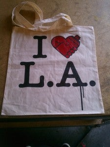 Image of I Spray L.A Tote Bags