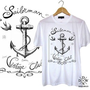 Image of T-shirt Sailorman Vintage Club by Dadawan