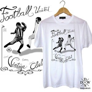 Image of T-shirt Football United Vintage Club by Dadawan 