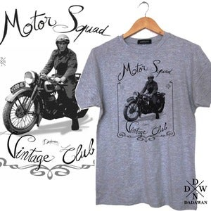 Image of T-shirt Motor Squad Vintage Club by Dadawan