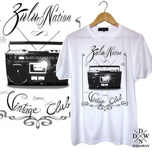 Image of T-shirt Zulu Vintage Club by Dadawan