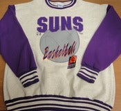 Image of Vintage Deadstock Phoenix Suns Salem Stitched Printed Crew Sweater Jumper