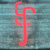 Image of Greek Fire Window Decal