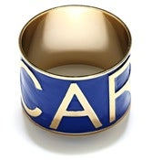 Image of CARLOS BANGLE - BLUE/GOLD