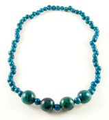 Image of Azaid Bombona Necklace Blue