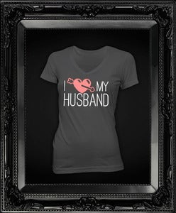 Image of I Love My Husband || Gray
