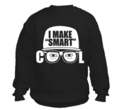 "Image of I Make ""Smart"" Cool Logo Crewneck Sweatshirt"