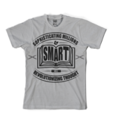Image of Sophisticating Millions Book Tee in Grey