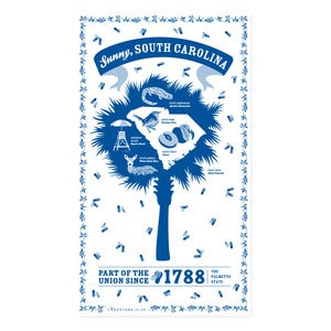 Image of South Carolina State Towel