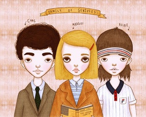 "Image of THE ROYAL TENENBAUMS - 5"" X 7"" PRINT"