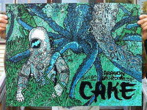 Image of Cake (Chicago) - Screenprinted Poster