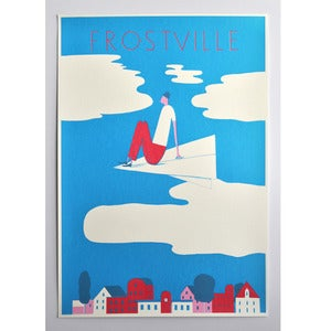 Image of Frostville Exhibition Poster