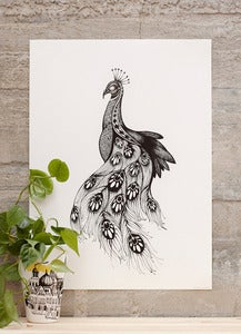 Image of Poster Peacock