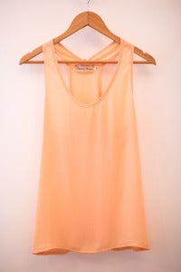 Plain Pale Peach Tank
