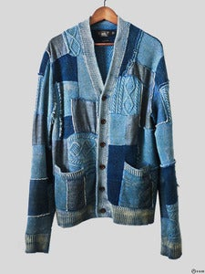 Image of RRL - Patchwork Cardigan