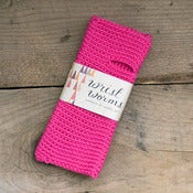 Image of Original Wrist Worms, Merino Wool, Hot Pink