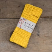 Image of Original Wrist Worms, Merino Wool, Yellow